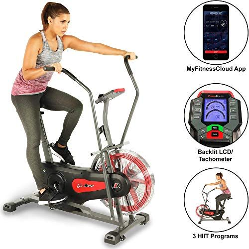 New Fitness Reality 1000ar Bluetooth Air Resistance Exercise Fan
