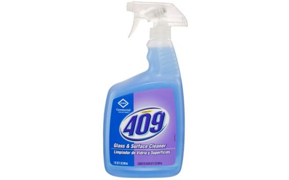 Clorox Pro 35293 Formula 409 Glass & Surface - 32 oz Spray Cleaner Bottle - 9/Case
