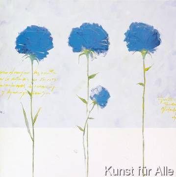 Llony Llompart - Flores Azules II