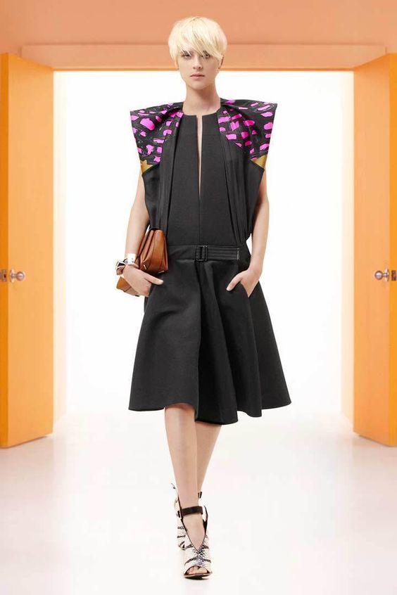 Gojee - Lara Structured Dress by Balenciaga