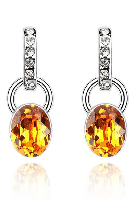 XCrystal - Antique Style Crystal Earrings