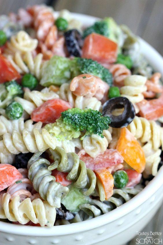 Creamy Summer Pasta Salad Recipe Yogurt Salads And