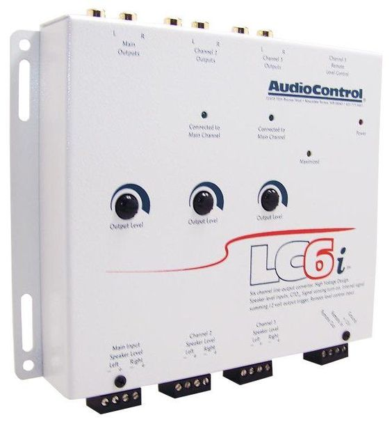 Signal Processors: Audiocontrol Lc6i 6-Channel Line Output Converter With Internal Summing White BUY IT NOW ONLY: $104.55