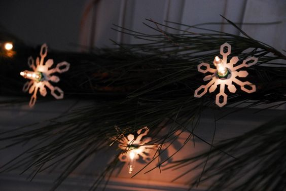 20-Second Snowflake Lights   Family Chic by Camilla Fabbri ©2009-2012. All rights reserved. The blog