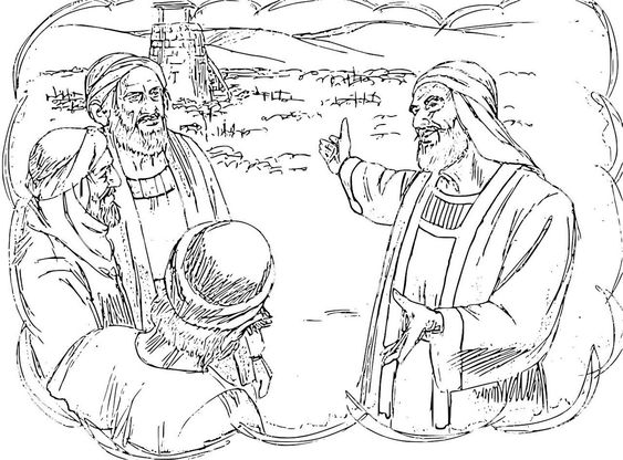 parables of jesus coloring pages - coloring vineyard and places on pinterest