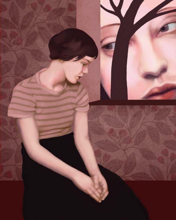 «spiando dentro» di Petrilli Daria - Digital art