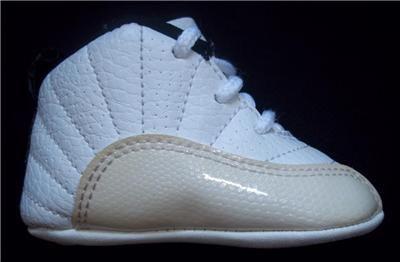 Newborn Baby Boy Nike Shoes | Details about Infant Baby Boy Nike Air Jordan Crib Atletic Shoes White ...