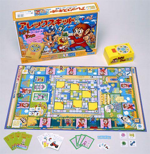 The Alex Kidd Board Game
