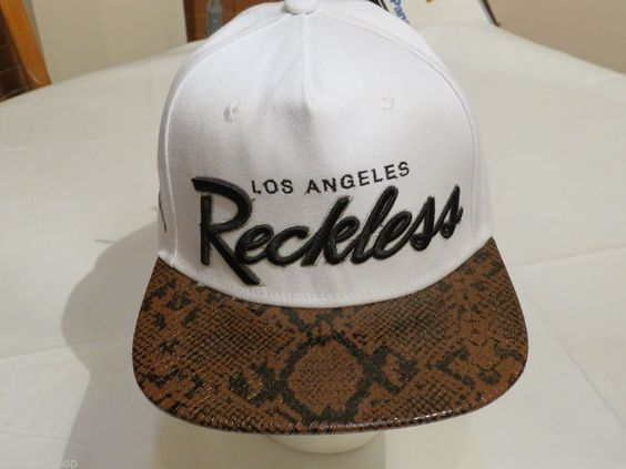 Y&R Young and Reckless Los Angeles Men's white brown green NEW NWT hat cap RARE #YoungandReckless #hatcap