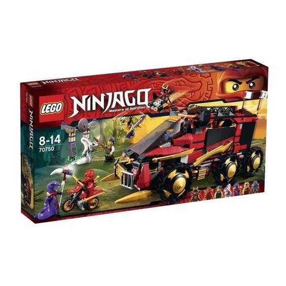 bonplan jouets cdiscount lego ninjago 70750 la base mobile des