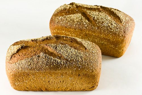 Flaxseed and Oat Bran High-Fiber Bread Crust