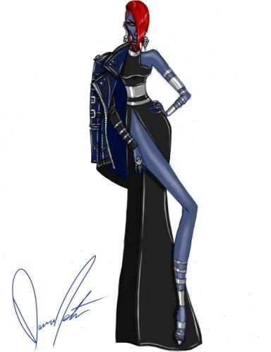 Mystique (no caption necessary). | X-Men