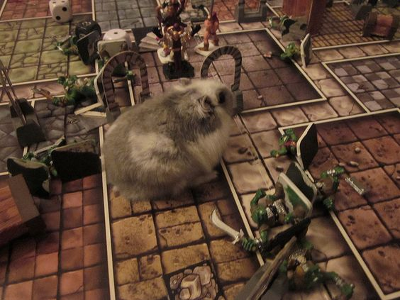 Hero Quest, the toughest monster of all. by Niriel, via Flickr
