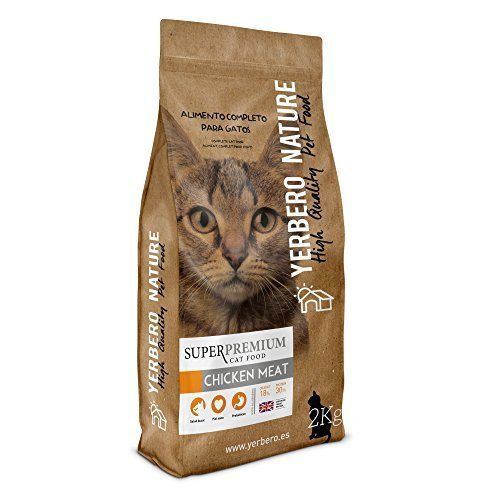 Yerbero Nature Chicken Meat Superpremium Catfood 2kg You Can Find Out More Details At The Link Of The Image Catfood Cat Food Meat Chickens Kitten
