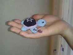 ✿ڿڰۣ✿ Oes - Meine Häkelarbeiten & Anna´s Strickarbeiten ✿ڿڰۣ✿: kleine gehäkelte Schildkröte mit Häkelanleitung