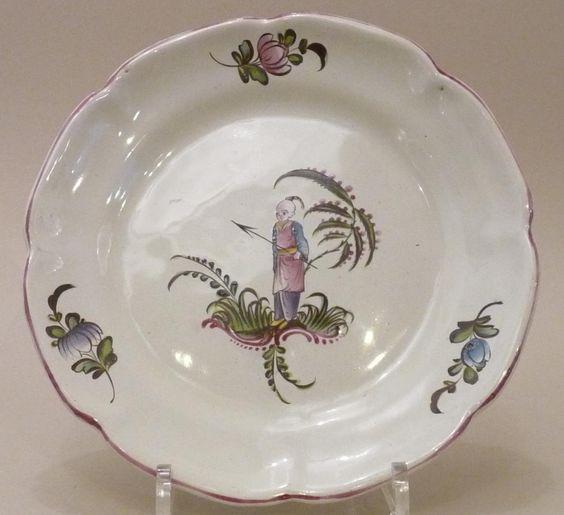 Aprey assiette d cor chinois 18 me si cle galerie for Decoration 18eme siecle