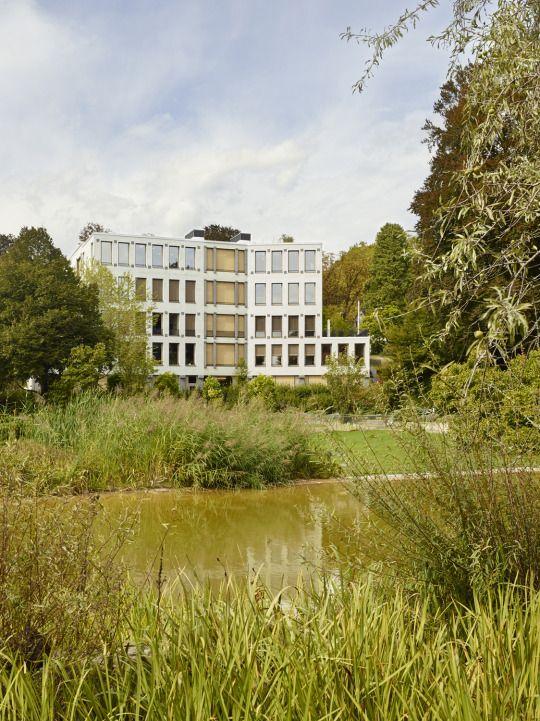 Peter Märkli - Hotelfachschule Belvoirpark, Zurch 2015. Quote via, photos © Heinrich Helfenstein, Seraina Wirz.