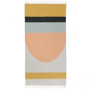 Kelim carpet, Semicircle, small