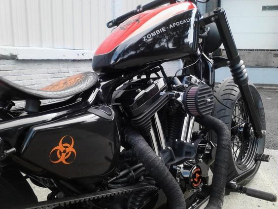 07 HD Nightster   So much work went into it. Beautiful detail.