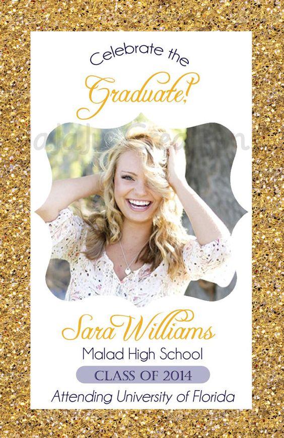 Crawfish Graduation Invite Designs by Jessica Invitations