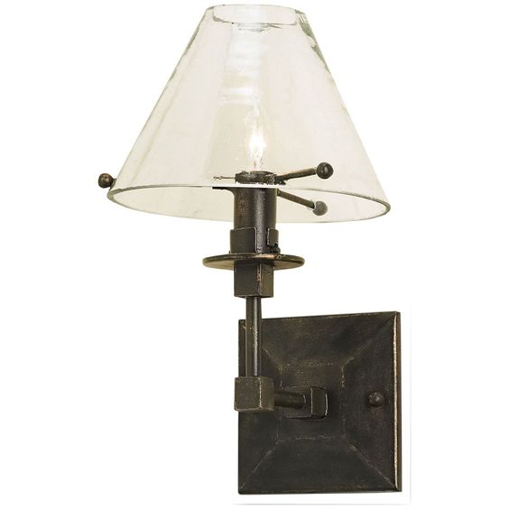 Currey and Company Kiran Bronze Gold Wall Sconce