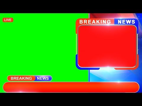 Breaking News Green Screen Modern Design For Kinemaster Edius After Effects And Premiere Youtu Greenscreen Free Green Screen Happy Diwali Wishes Images