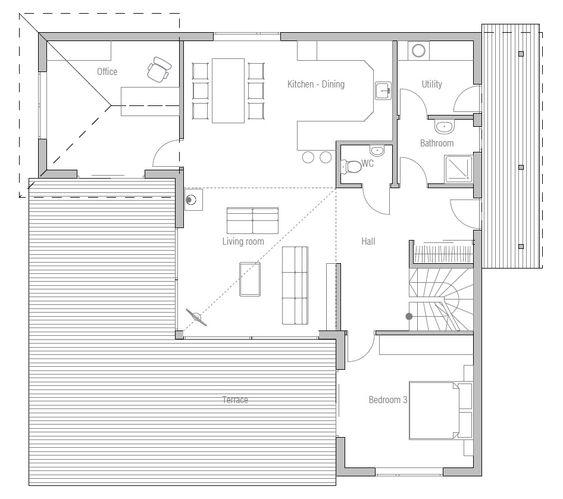 - modern-houses_10_home_plan_ch17.jpg Floor Plans Pinterest ...