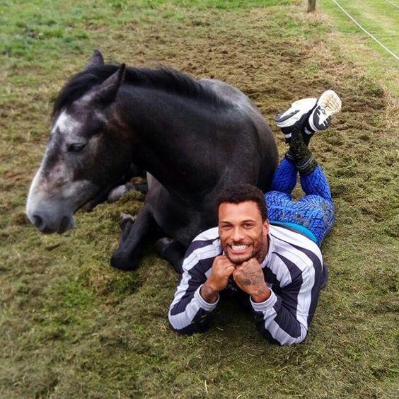 I love my friend black Philip, gonna miss you so much 😘😘 #kingdavid #malemodel #horseboy