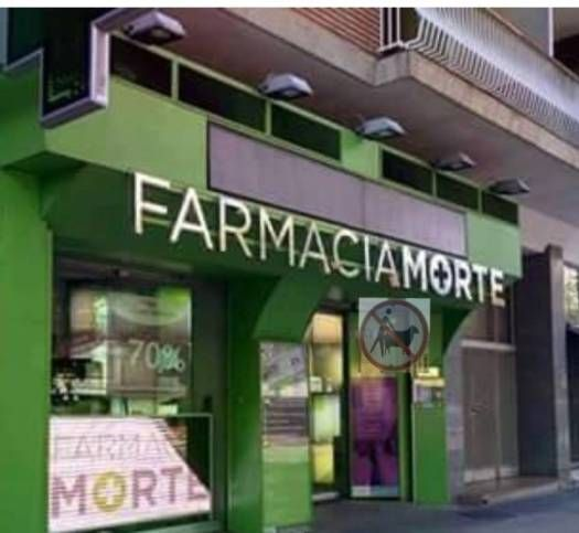 De todos los nombres posibles, han elegido uno para la farmacia que para que... #real