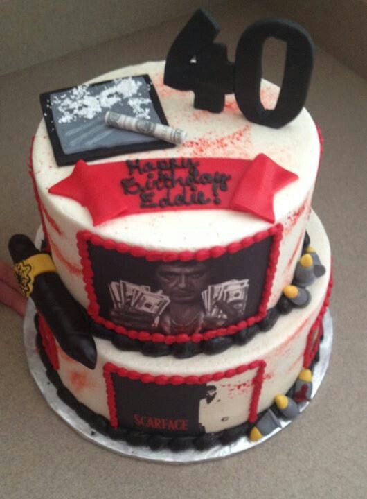 scarface cake ideas