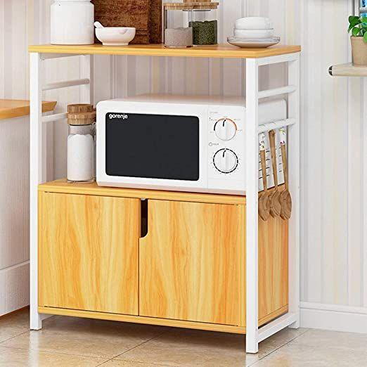 kitchen shelf microwave oven rack