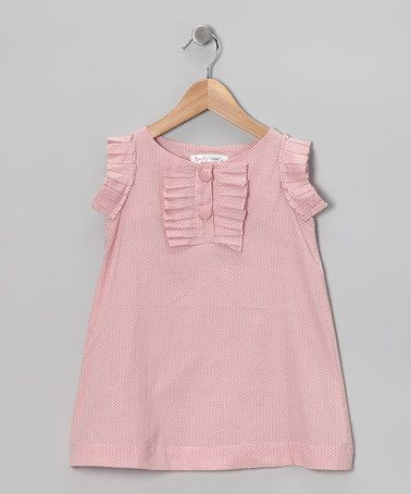 Take a look at this Pink Phoebe Dress - Infant, Toddler & Girls by KandyCrew on #zulily today!
