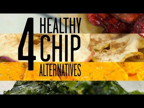 4 Healthy Chip Alternatives | MyRecipes - YouTube