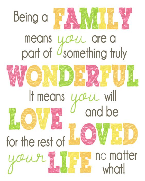 Happy Little Family Quotes – Quotes of the Day