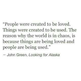 quote, chaos, and john green image