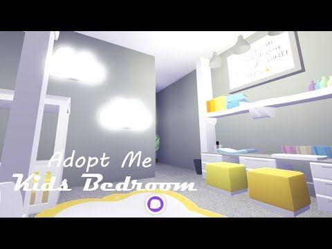 Yellow Kids Room Build Adopt Me Build Hacks Youtube En 2020 Decoraciones De Casa Decoracion De Unas Casas