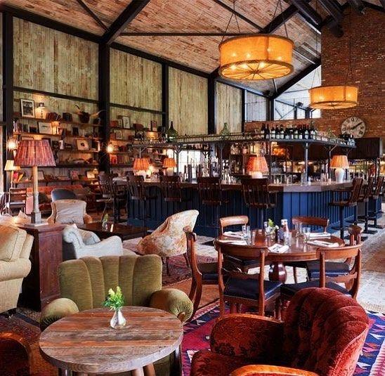 Rachelle Wenger On Instagram Soho House And Vicky Charles Sohohouse Pinterest Vickycharles Design E Soho Farmhouse Soho House Restaurant Interior Design