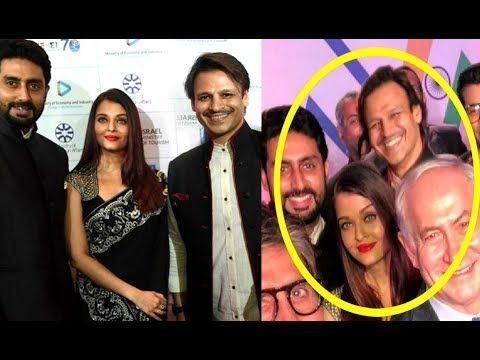 Aishwarya Rai And Vivek Oberoi Caught In One Frame With Abhishek Bachchan Youtube Vivek Oberoi Aishwarya Rai Catch