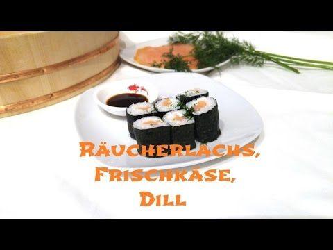 Ich mache Hoso Maki Sushi mit Räucherlachs selber zu Hause. Viele haben eine Abneigung gegen rohen Lachs/Fisch und in diesem Rezept zeige ich, wie man ihn mi...
