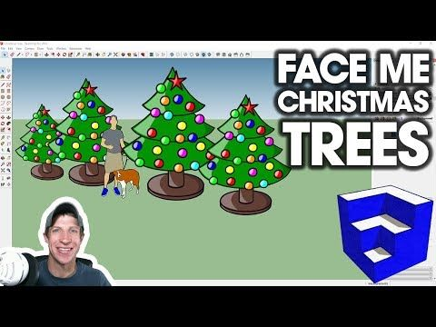 Sketchup Quick Tutorials Youtube In 2020 Christmas Tree Images Christmas Tree Tree Images