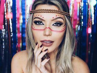 #makeup #maquiagem #makeuptime #makecarnaval