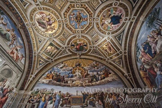 Vatican Museum - When you stand in this place, you feel so far away from life!  the beauty is unmatched!