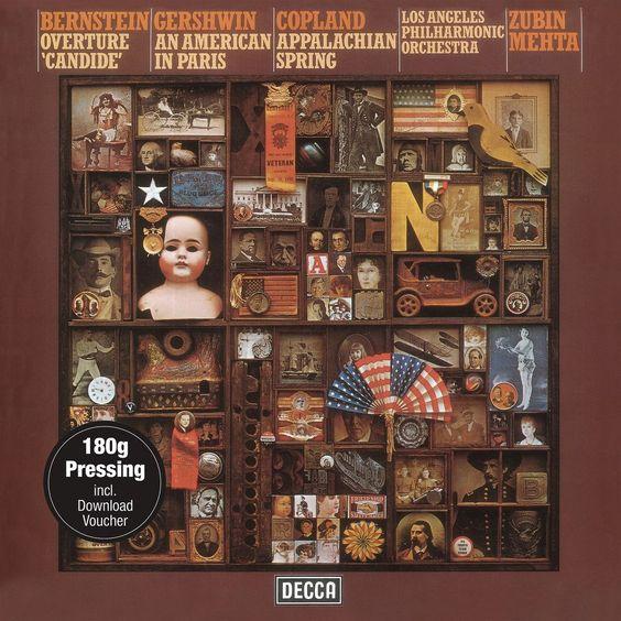 Zubin Mehta - Bernstein: Overture 'Candide'; Gershwin: An American in Paris; Copland: Appalachian Spring