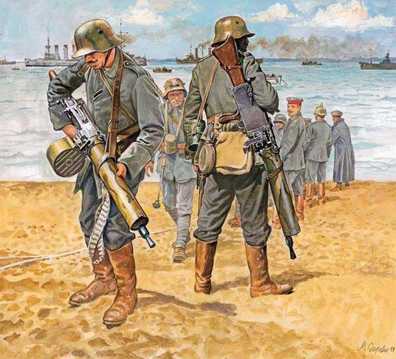 Ww1 German Sturm Truppen