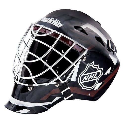 Details About Youth Hockey Goalie Mask Face Team Sports Kids Equipment Street Gear 6 12 Nfl In 2020 Hockey Helmet Hockey Hockey Goalie Equipment