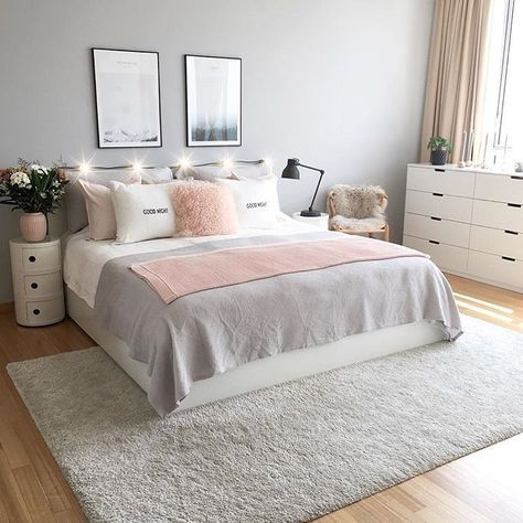 fin inredning sovrum