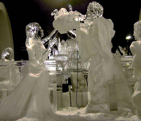 Simeon Anne Ice Sculpture