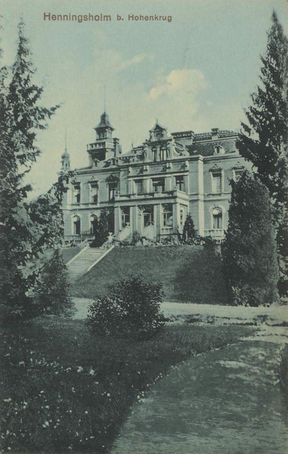 Henningsholm bei Hohenkrug Kreis Greifenhagen