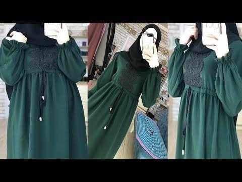 شوفي كيف تخيطي عباية رائعة وانيقة مع شرح مبسط للمبتدئين Beautiful Abaya Stitching Youtube In 2021 Islamic Fashion Beautiful Abayas Fashion