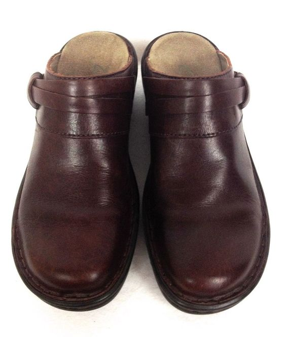 Clarks Shoes Women's Brown Leather Loafers 6 #Clarks #LoafersMoccasins